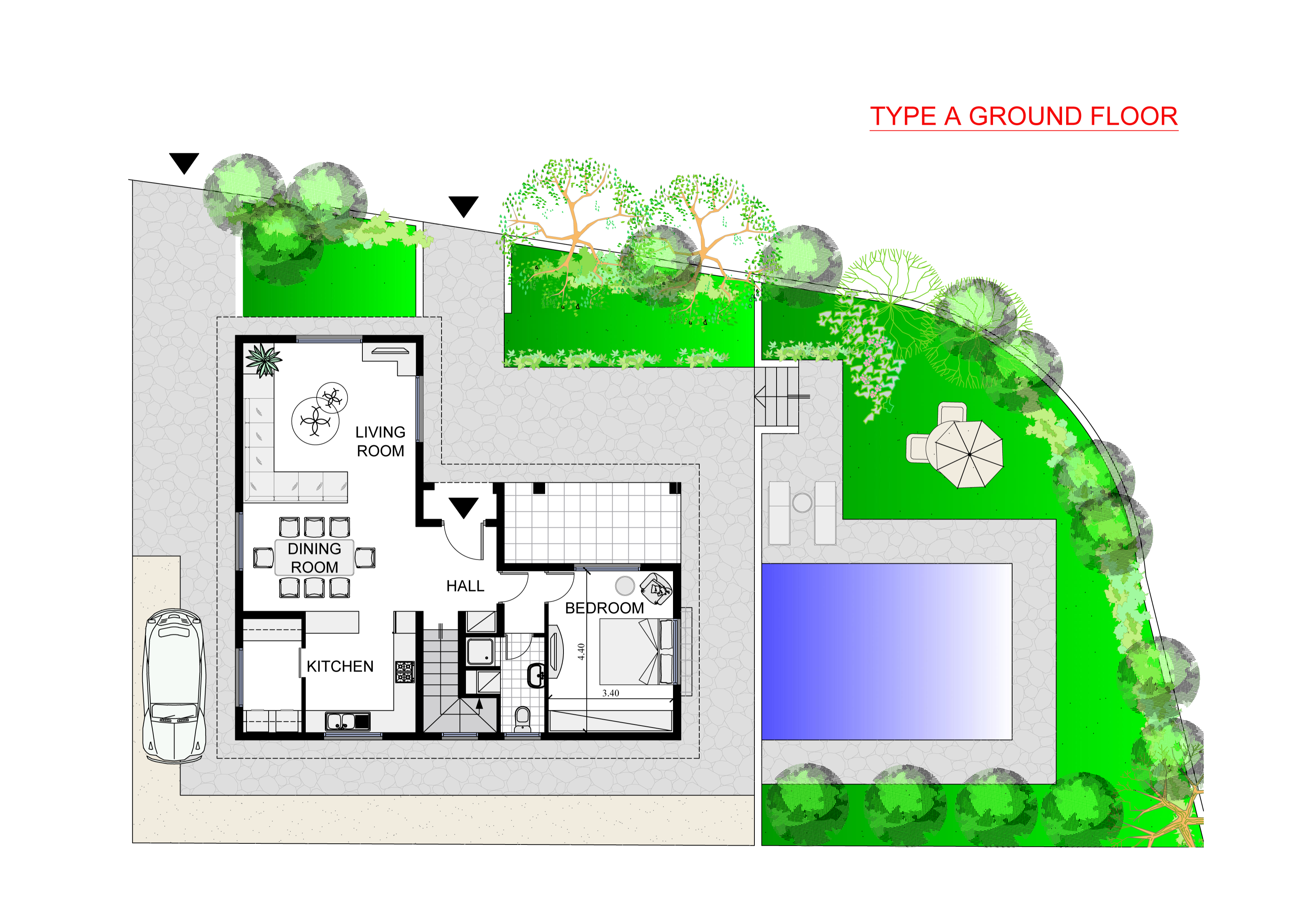 LAYOUT Droso A GROUND FLOOR