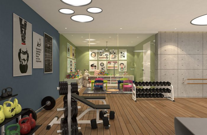 gym-and-childrens-playroom